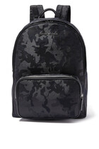 Camo Logo Backpack