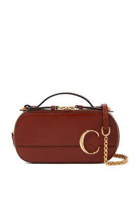 Mini Leather Vanity Bag