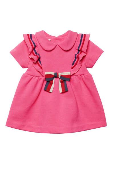 Bow Cotton Dress