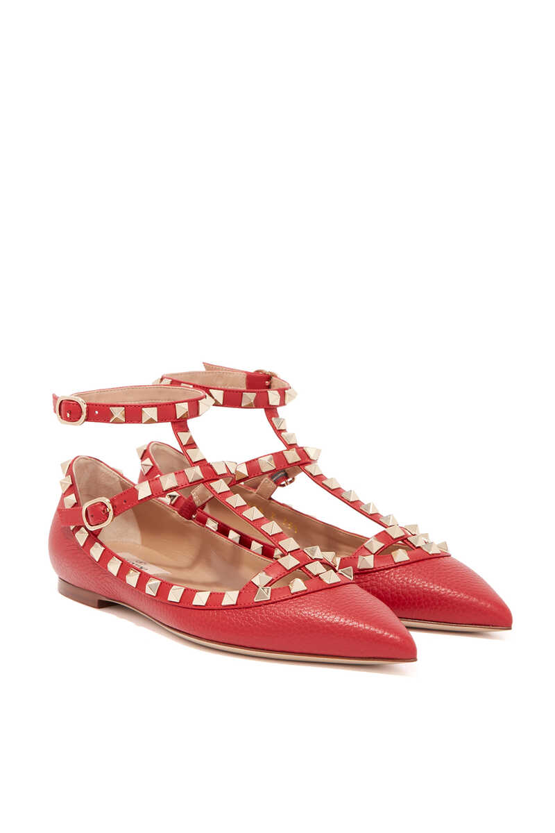 Valentino Garavani Rockstud Leather Sandals image number 5