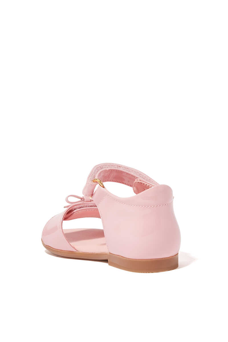T-strap Patent Leather Sandals image number 2