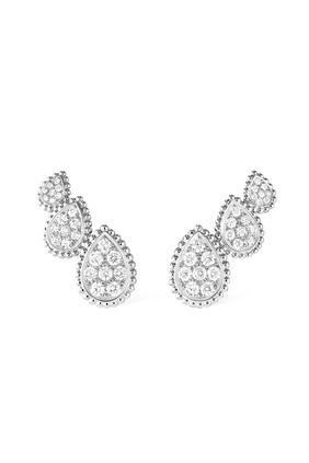 Serpent Bohème Diamond Stud Earrings