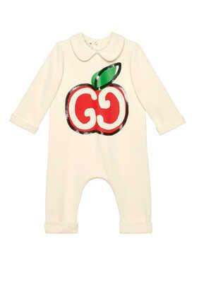GG Apple Logo Sleepsuit