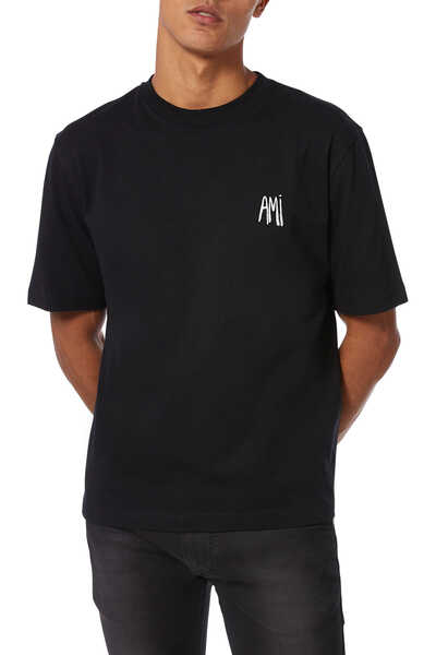 Embroidered Logo Patch T-Shirt