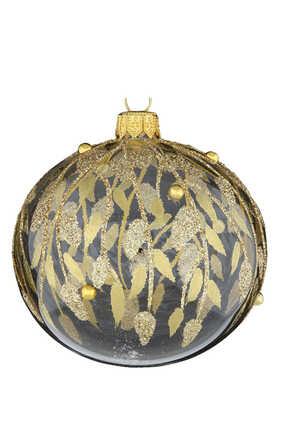 Glitter Gold Ornament