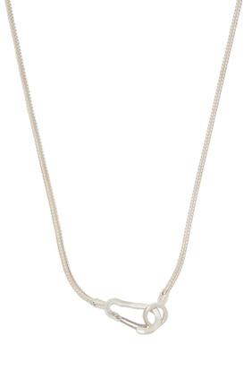 Snake Karabiner Necklace