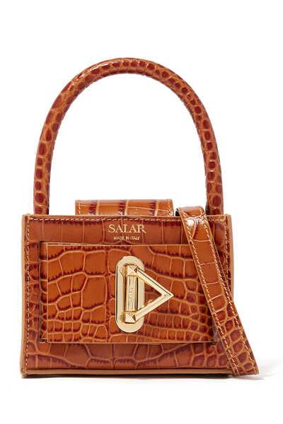 LouLou Croc-Embossed Bag