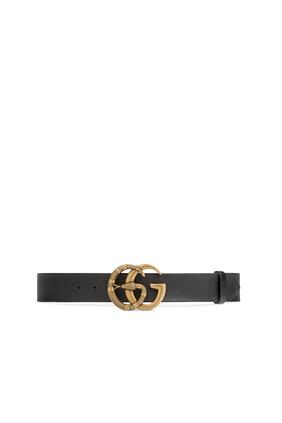 Double G Snake Buckle Belt