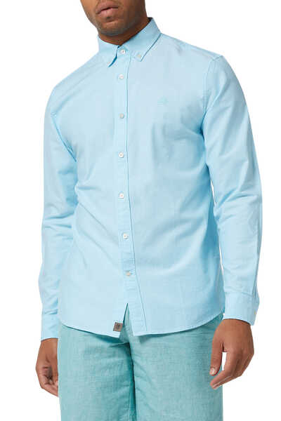 Standard-Fit Oxford Shirt