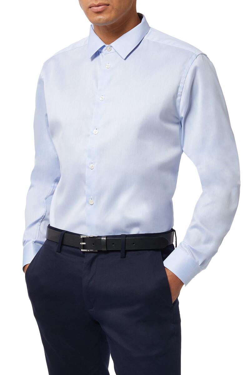 Super Slim Fit Signature Twill Shirt image number 5