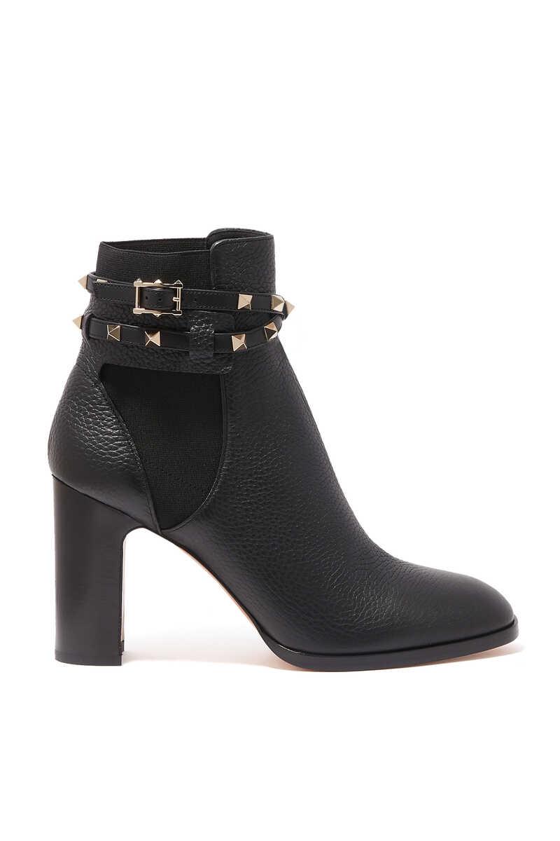 Valentino Garavani Rockstud Leather Boots image number 1