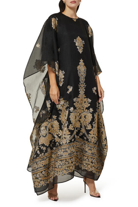 Baroque Embroidered Kaftan