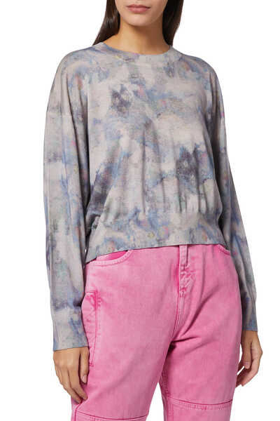 Most Cropped Tie Dyed Long Sleeve T-Shirt