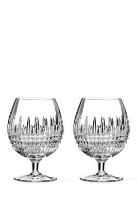 Lismore Diamond Glasses, Set of Two