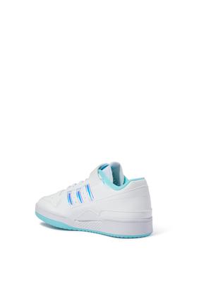 Kids Forum Iridescent Leather Sneakers