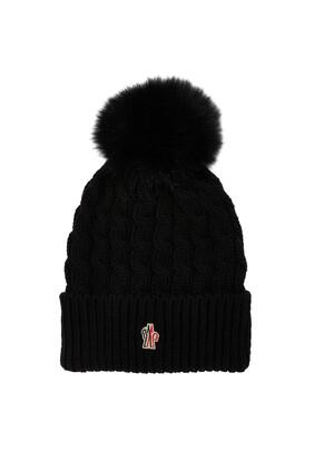 Pompom Wool Beanie