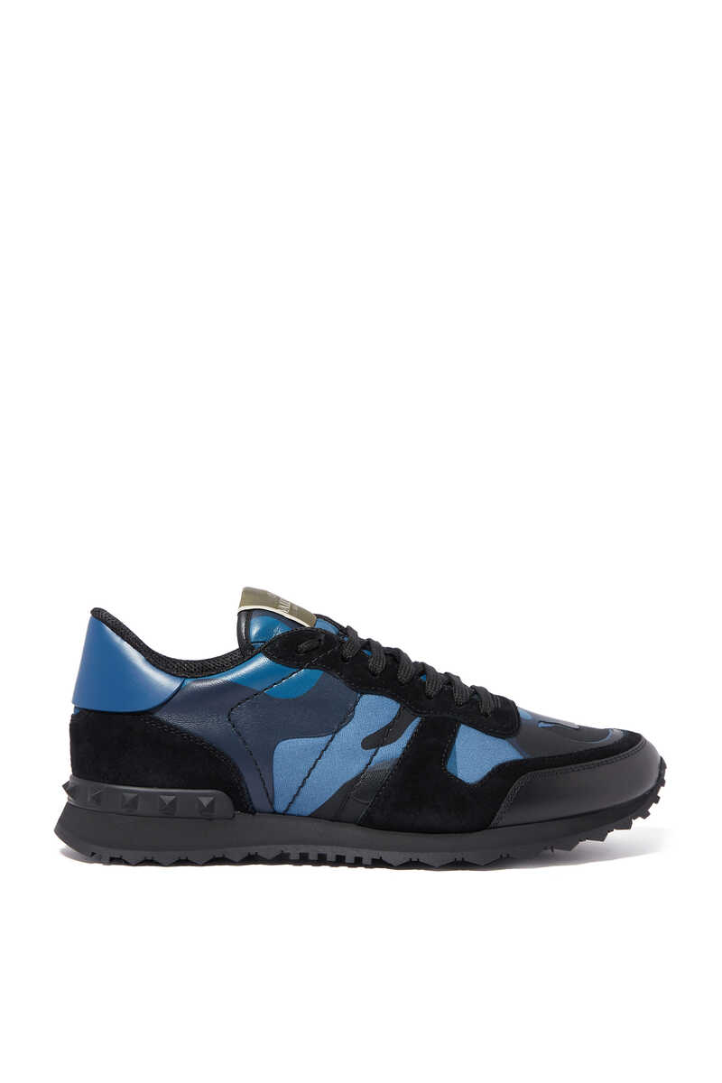 Valentino Garavani Camouflage Rockrunner Sneakers image number 1