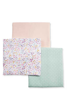 Lilybelle Muslin Squares , Set of Three