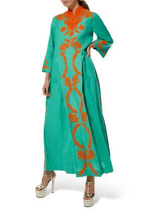 Lace Kaftan Dress
