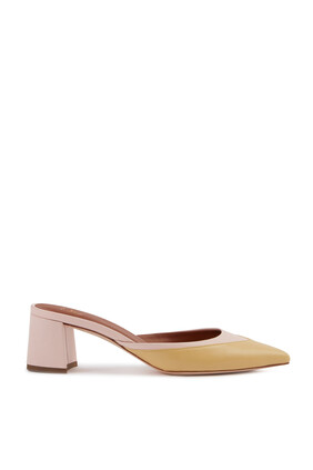 Edie Leather Mules