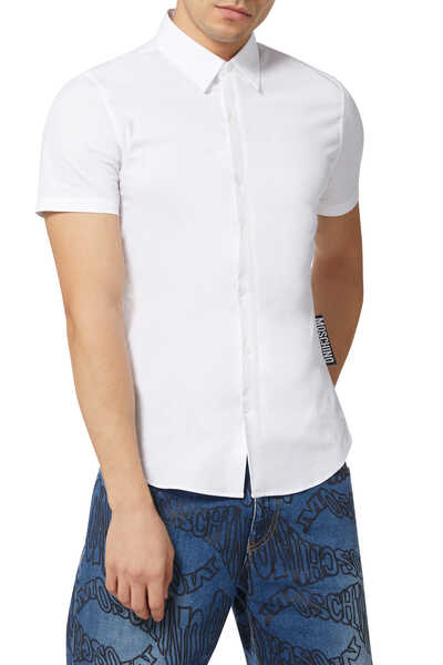 Big Label Poplin Shirt