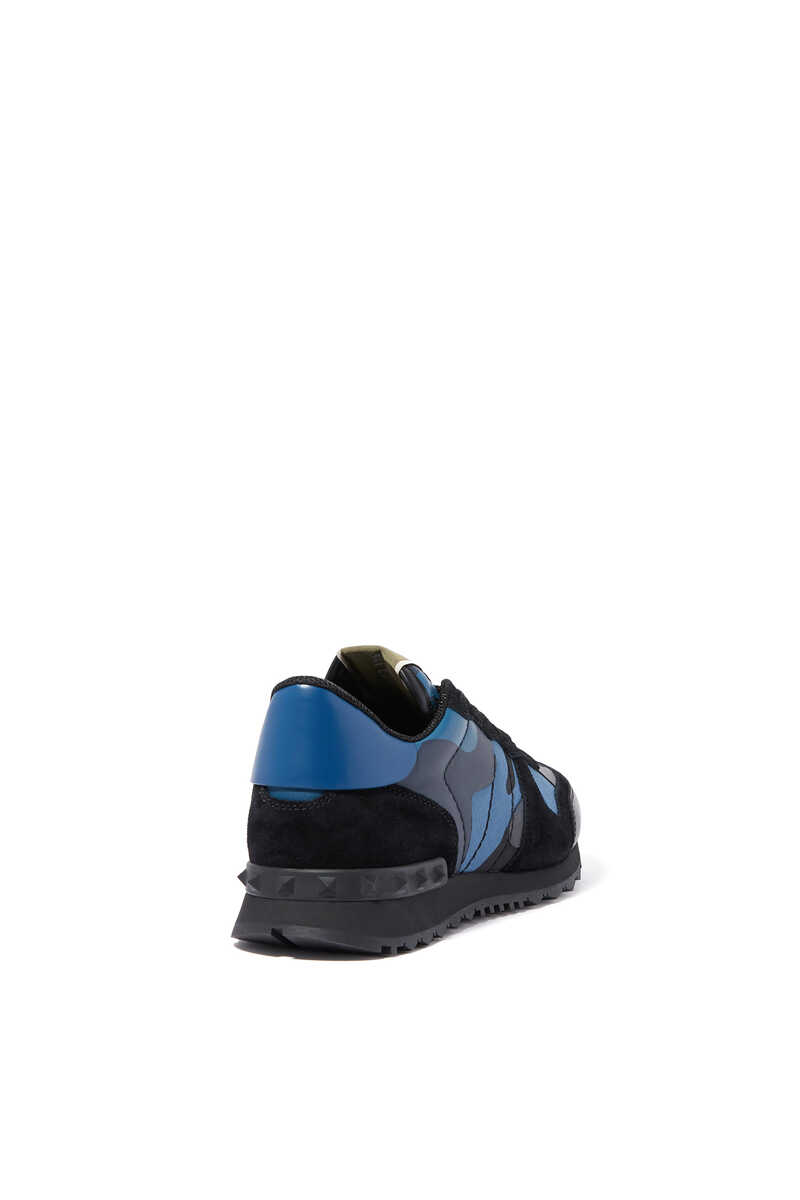 Valentino Garavani Camouflage Rockrunner Sneakers image number 3