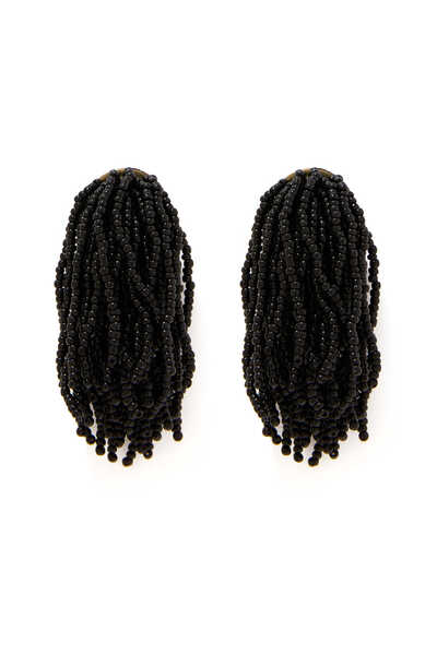 Seed Bead Waterfall Earrings