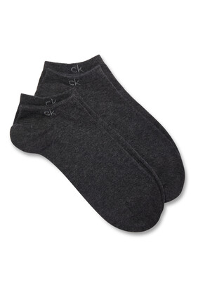 Casual Flat Knit Socks, Pack of 2