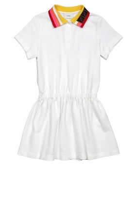 Stripe Collar Dress