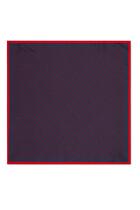 GG And Shamrocks Silk Pocket Square