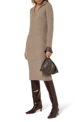 Jen Vegan Leather Tote Bag