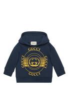 Gucci Disk Print Sweatshirt