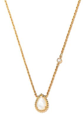 Serpent Bohème XS Mother Of Pearl Pendant Necklace