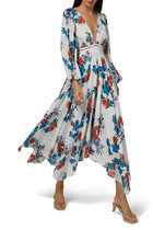 Mykonos Floral Printed Dress