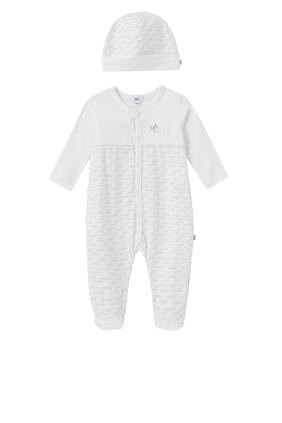 Logo Pyjama & Hat Set