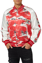 Hawaiian Bomber Jacket