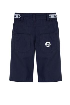 Logo Waist Shorts