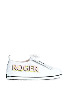 Call Me Vivier Patch Sneakers