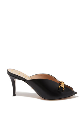 Sylvie Leather Mules