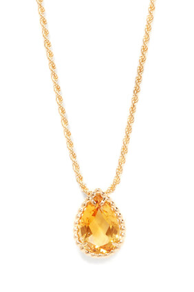 Serpent Bohème Citrine Pendant Necklace