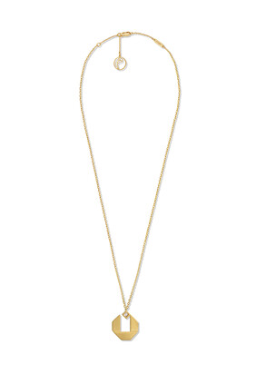 Arabic Letter Noon Necklace