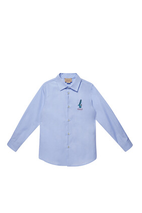 Logo Embroidery Shirt