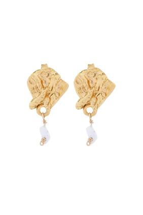 Streaming Pearl Earrings