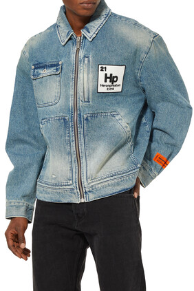 Worker Logo Patch Denim Jacket