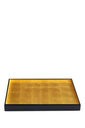 London Gold Leaf Tray Large