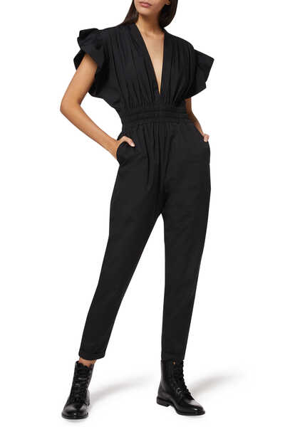Pleona Ruffled Jumpsuit
