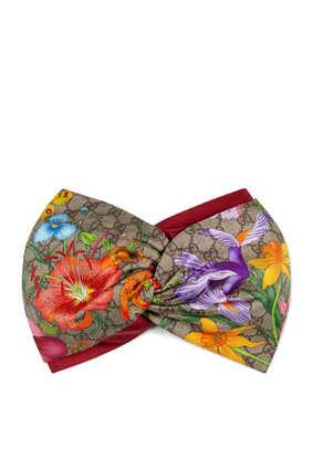 GG Flora Print Headband
