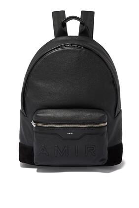 Logo Embossed Classic Backpack
