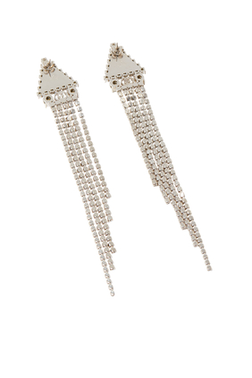 Crystal Metal Earrings