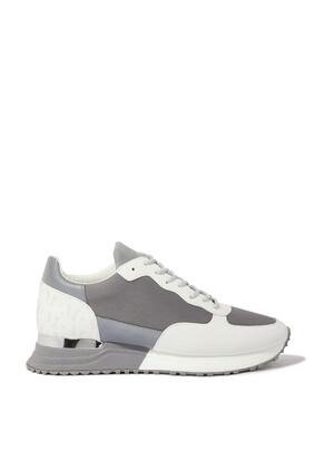 Popham Monochrome Reflect Sneakers